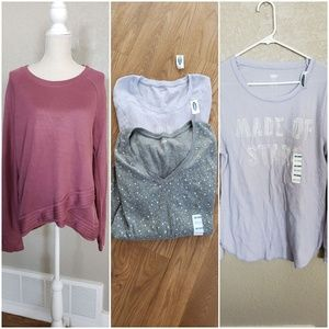 Active life and old navy thermal bundle